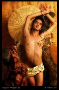 Sebastian Herido por Eros