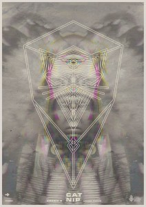 Poster Cat Nip-Cedric B