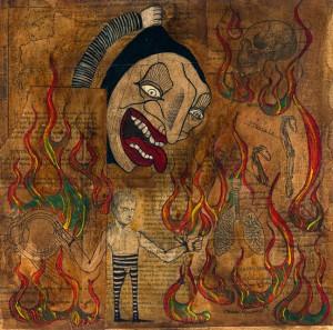 se quema el templo