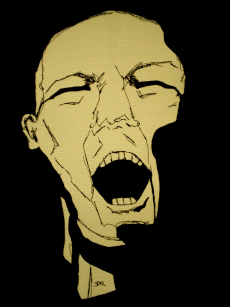 grito de sombra